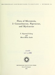 Cover of: Flora of Micronesia