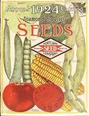 Cover of: Portland Seed Company's Catalog and seed annual for 1924