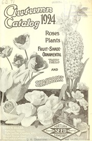 Cover of: Autumn catalog 1924