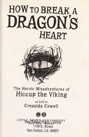 Cover of: How to break a dragon