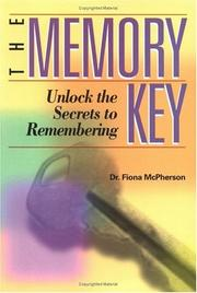 Cover of: The Memory Key | Fiona McPherson