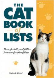 Cover of: The Cat Book of Lists | Stephen J. Spignesi