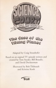 Cover of: The case of the tilting planet
