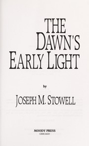 Cover of: The dawn's early light