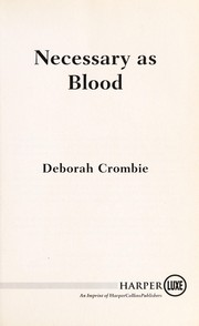 Cover of: Necessary as blood
