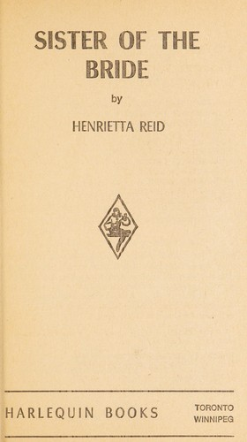Sister of the Bride by henrietta reid