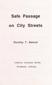 Cover of: Safe Passage on City Streets