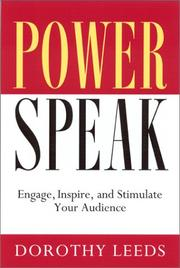PowerSpeak by Dorothy Leeds