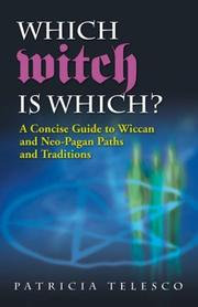 Cover of: Which Witch Is Which? | Patricia Telesco