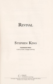 Cover of: Revival | Stephen King
