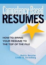 Cover of: Competency-based resumes |