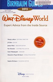 Cover of: Walt Disney World 2013