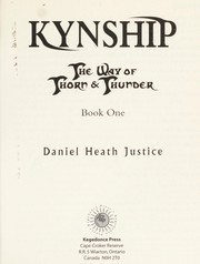 Cover of: Kynship | Daniel Heath Justice