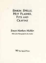 Cover of: Sinkin spells, hot flashes, fits and cravins