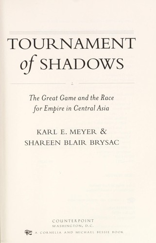 Tournament of shadows by Karl Ernest Meyer