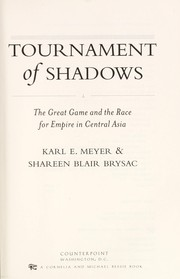 Cover of: Tournament of shadows | Karl Ernest Meyer