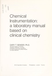 Chemical instrumentation: a laboratory manual based on clinical
