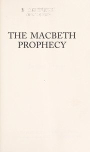 Cover of: The Macbeth prophecy