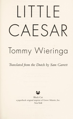 Little Caesar by Tommy Wieringa