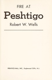 Cover of: Fire at Peshtigo