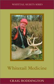 Cover of: Whitetail Medicine (Whitetail Secrets)