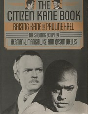 Cover of: The Citizen Kane book. --