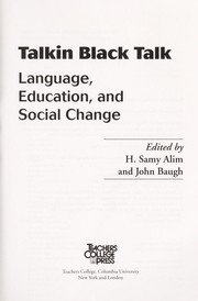 Cover of: Talkin black talk | edited by H. Samy Alim and John Baugh.