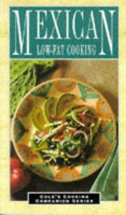 Cover of: Low-fat Mexican cooking |