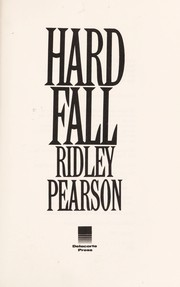 Cover of: Hard fall | Ridley Pearson