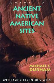 Cover of: Guide to ancient Native American sites