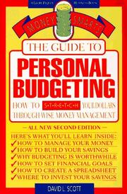 The guide to personal budgeting by David Logan Scott
