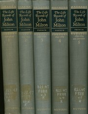 Cover of: The Life Records of John Milton
