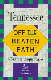 Cover of: Off the Beaten Path Tennessee