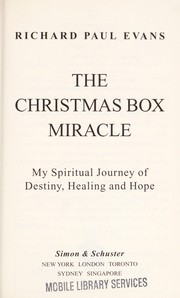 Cover of: The Christmas box miracle