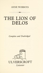 Cover of: The lion of Delos
