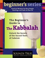Cover of: A beginner's guide to Kabbalah