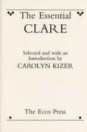 Cover of: The essential Clare