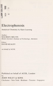 Cover of: Electrophoresis