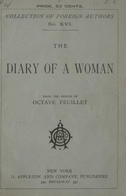 Cover of: The diary of a woman