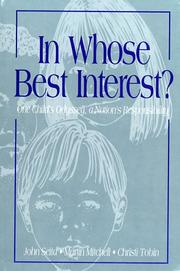 Cover of: In whose best interest?