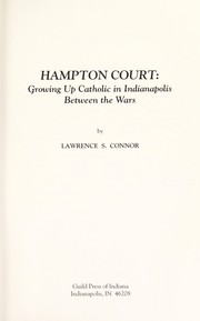 Cover of: Hampton Court | Lawrence S. Connor