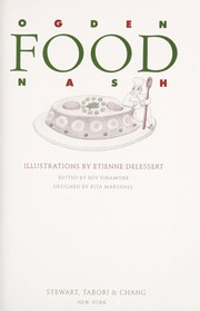 Cover of: Food