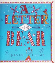 Cover of: A letter for bear