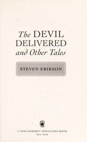 Cover of: The devil delivered and other tales