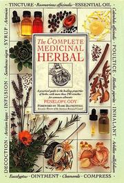 Cover of: The complete medicinal herbal