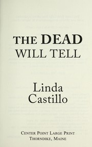 Cover of: The dead will tell