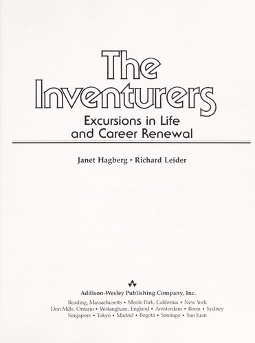The inventurers : excursions in life and career renewal by