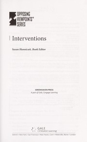 Cover of: Interventions | Susan C. Hunnicutt