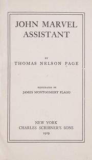 Cover of: John Marvel, assistant | Thomas Nelson Page