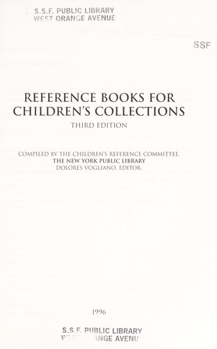 Reference Books for Children's Collections by